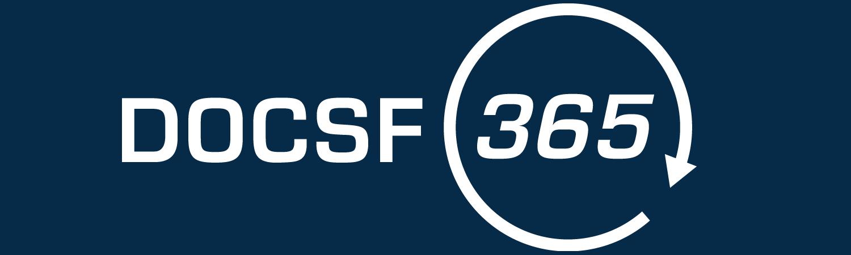 DOCSF Logo - Blue Background